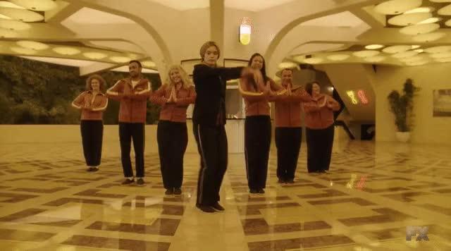 Watch and share Legion Rachel Keller Dancing GIFs on Gfycat