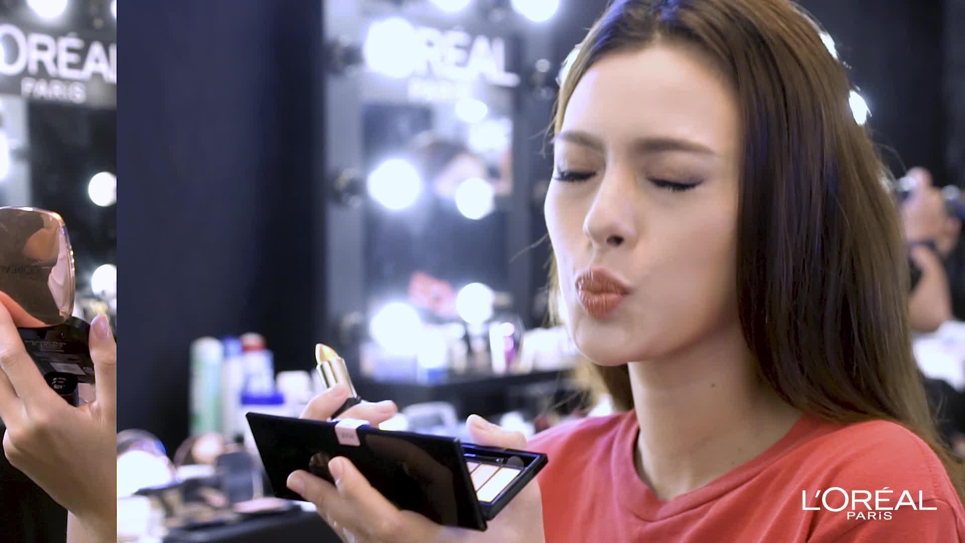 Tú Hảo, Phan Ngân, Quỳnh Như,thí sinh nào của The Face sở hữu đôi môi nhũ vàng lấp lánh khiến bạn ấn tượng nhất?