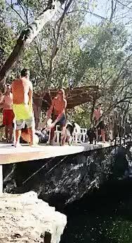 Watch QUEM MANDOU SE METER ONDE NÃO FOI CHAMADO GIF by Blog Sem Deboche (@blogsemdeboche) on Gfycat. Discover more brincadeira, cachoeira, cachorro, cair, caiu, curioso, deboche, fail, idiota, praia, rio GIFs on Gfycat
