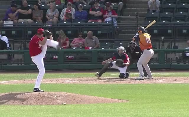Watch and share Baseball GIFs by Fish Stripes on Gfycat