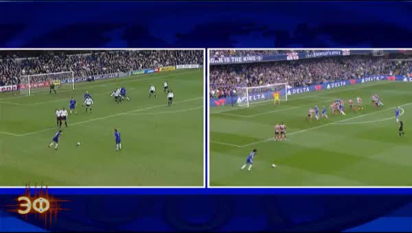Watch and share Willian And Gianfranco Zola Twin Goals GIFs by Эстетика Футбола on Gfycat