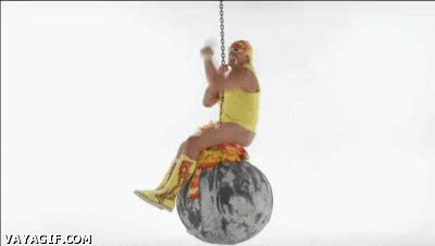 Watch Hulk Hogan Spoofs Miley Cyrus' 'Wrecking Ball' Video GIF on Gfycat. Discover more related GIFs on Gfycat
