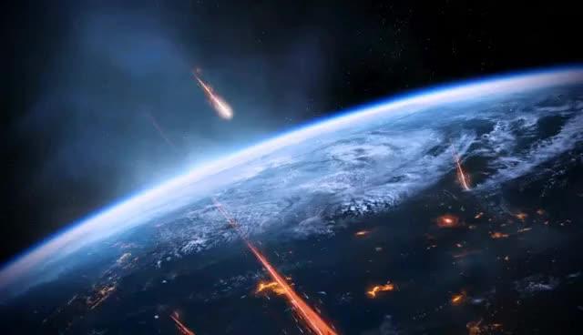 Watch and share Mass Effect 3 Earth Under Siege Dreamscene Video Wallpaper GIFs on Gfycat