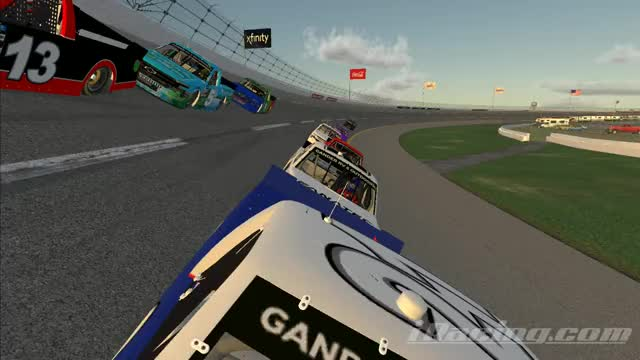 Watch and share Talladega GIFs and Iracing GIFs by real_scud on Gfycat