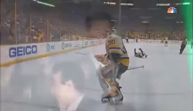 Watch Carl Hagelin scores an empty net goal to win the Stanley Cup GIF on Gfycat. Discover more related GIFs on Gfycat