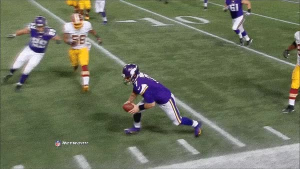 Watch and share Christian-ponder-gets-hit-hard-b GIFs on Gfycat