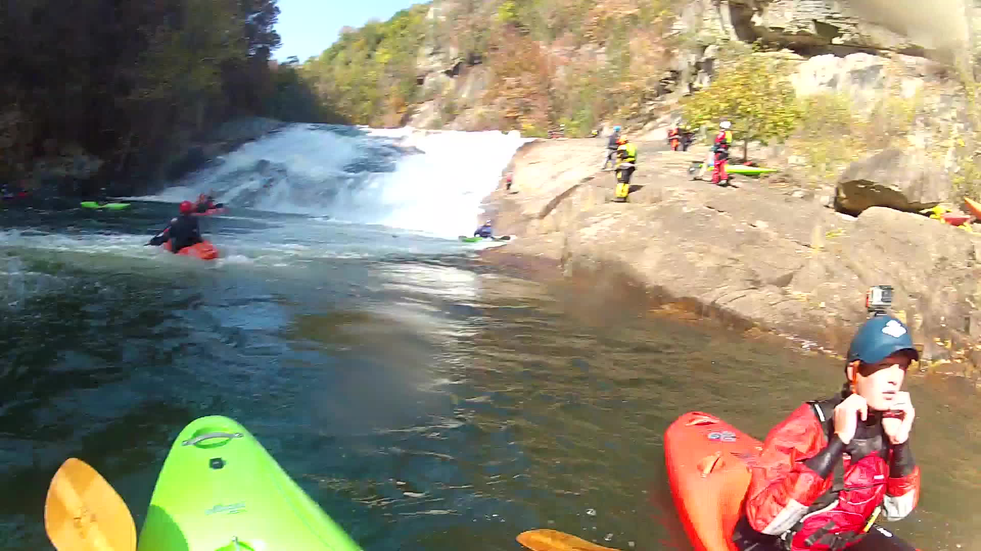 Tallulah gorge kayaking 11/12/16 GIFs