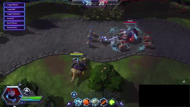 Watch Thrall Combo Arthas GIF on Gfycat. Discover more heroesofthestorm GIFs on Gfycat