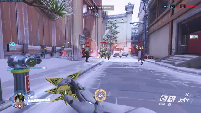 Watch and share Dragonblade GIFs and Overwatch GIFs by Xazzid on Gfycat