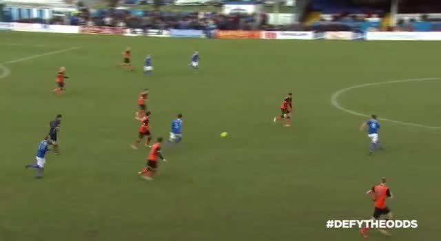 scottishfootball, Ryan Dow scores for Dundee United v Stranraer after nutmeg and killer through ball by Nadir Ciftci (reddit) GIFs