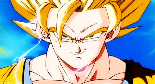 Watch and share 1517659628_Goku Epic Smile.gif GIFs by Streamlabs on Gfycat