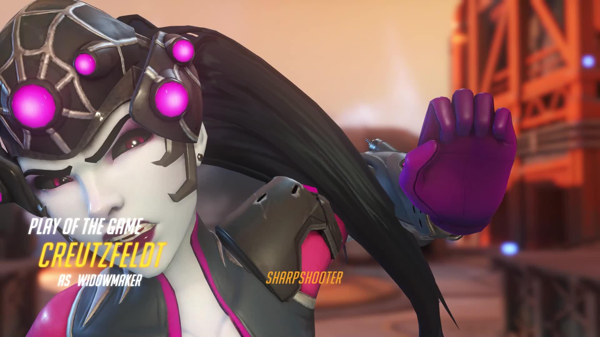 Overwatch, Widowmaker, potg, Timing Genji Deflect GIFs