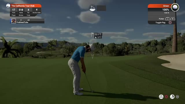 Watch and share True Sim 50 Ft Putt GIFs by FrothiestTube on Gfycat