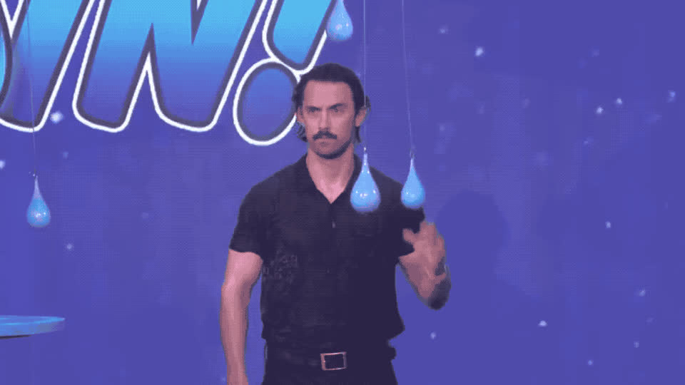 ellen, hunk, is, it, make, make it rain, milo, rain, raining, rainy, sexy, show, storm, this, this is us, umbrella, us, ventimiglia, wet, Milo Ventimiglia gets wet GIFs