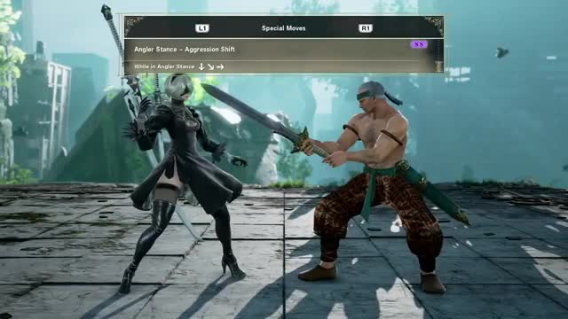 Watch SOULCALIBUR VI - 2B Movelist GIF on Gfycat. Discover more 5859dfec-026f-46ba-bea0-02bf43aa1a6f, PS4Share, ShareFactory, soul070 GIFs on Gfycat