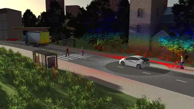 Watch and share PreScan's New Generation Sensor To Simulate Point Clouds For Real Time LIDAR Applications GIFs on Gfycat