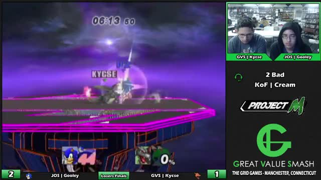 Watch JOS | Gooley (Sonic) VS GVS | Kycse (Charizard) | Grid Weekly Losers Finals GIF by @luk101 on Gfycat. Discover more ssbpm, super smash brothers, wiiu GIFs on Gfycat