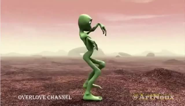 Watch and share Green Alien Dance.. Dancing Challenge. GIFs on Gfycat
