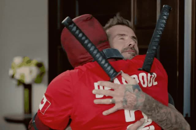 Watch this david beckham GIF by GIF Queen (@ioanna) on Gfycat. Discover more awkward, beckham, best, bff, bros, david, deadpool, door, friends, home, hug, love, man, priceless, thank, thanks, tight, weird, wtf, you GIFs on Gfycat
