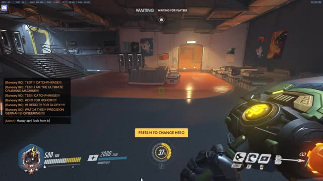 Watch and share Overwatch GIFs by buneary100 on Gfycat