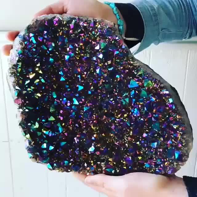 Watch and share Enormous Titanium Quartz Rock. GIFs on Gfycat