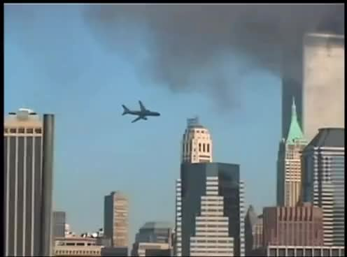 Watch and share Hijacked Planes Smash Into World Trade Center GIFs on Gfycat