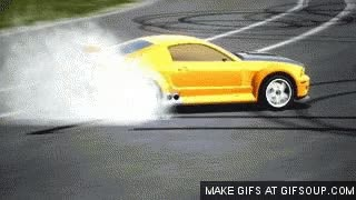 Watch and share MUSTANG GT-R CONCEPT BURNOUT GIFs on Gfycat