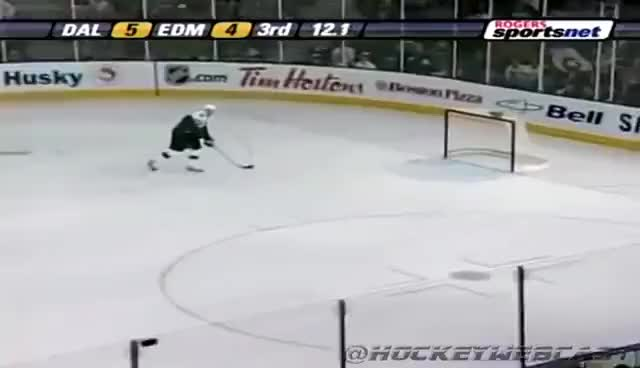 Watch and share Patrik Stefan Misses Empty Net - 2007 - Full Sequence (HQ Dual-Feed) GIFs on Gfycat