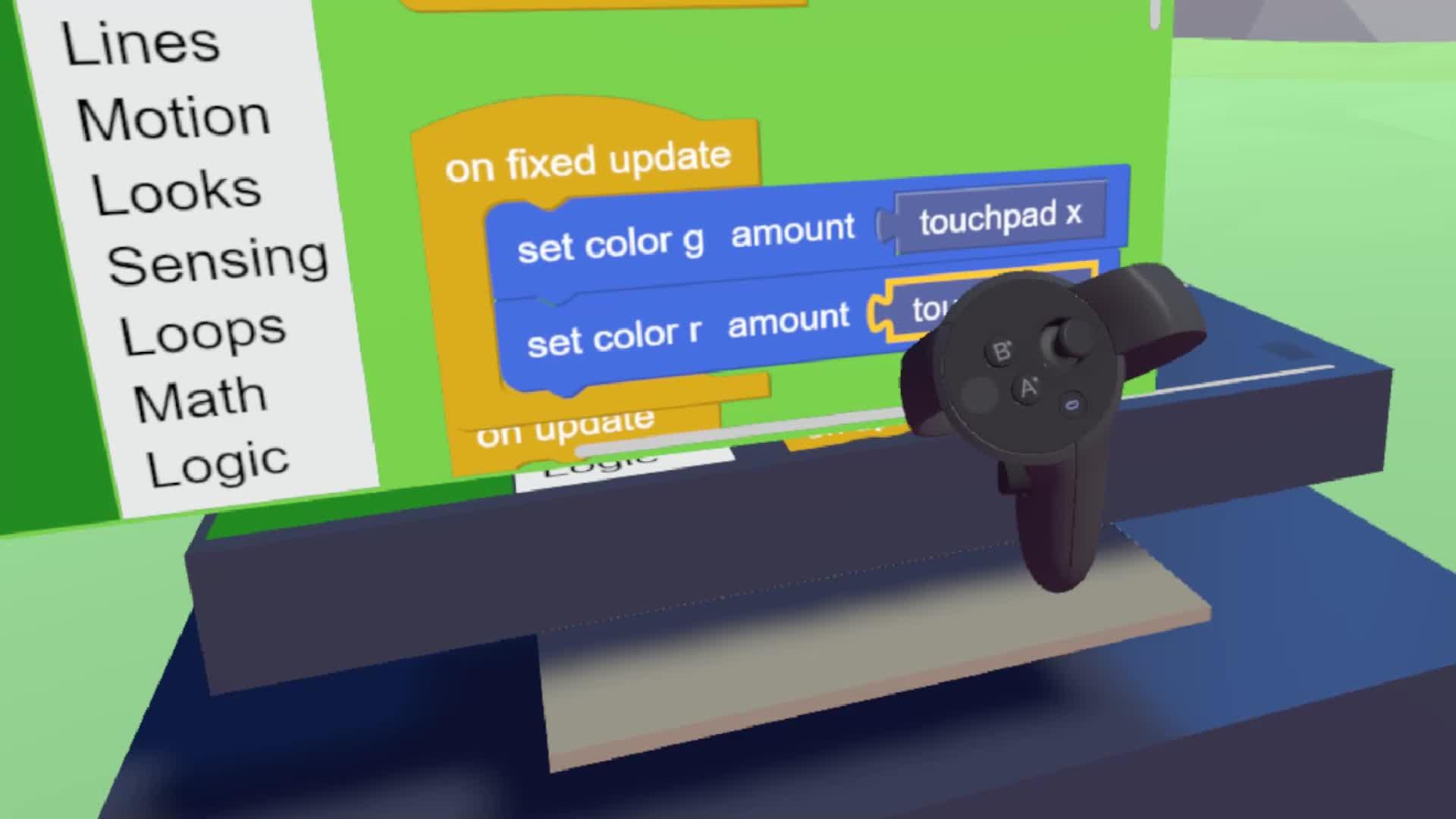 Oculus Controller GIFs