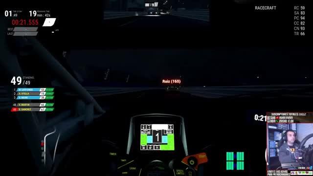 Watch Assetto Corsa Competizione || Early Access Update #3: Online básico, BMW M6, Paul Ricard... || LIVE GIF on Gfycat. Discover more LLUVIA, Lamborghini, Mclaren, PC, PS4, carreras, castellano, coches, comentado, de, ferrari, heikki, heikki360es, iRacing, licencias, noche, ol, online, simracing, simulacion GIFs on Gfycat