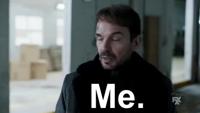 Watch and share Fargo Episode 1 GIFs and Lorne Malvo GIFs on Gfycat