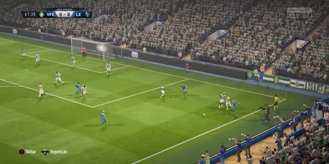 Watch Golo Final Taça de Portugal vs VFC eSports GIF by Dimanu (@dimanu) on Gfycat. Discover more fifa18 GIFs on Gfycat