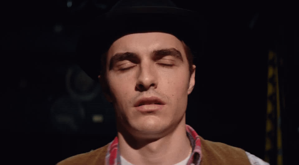 awkward, dave franco, freeze up, going blank, gulp, nervous, the disaster artist, Dave Franco Gulp GIFs