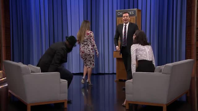 Watch and share The Tonight Show GIFs and Patty Jenkins GIFs on Gfycat