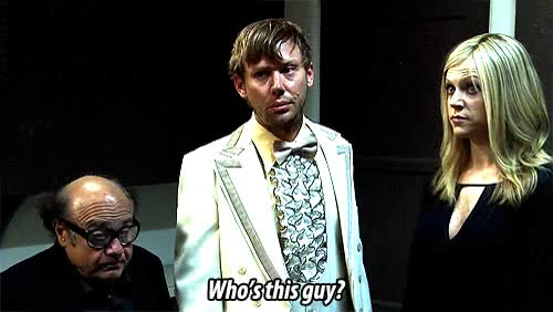 Watch and share Its Always Sunny In Philadelphia GIFs and Jimmi Simpson GIFs on Gfycat
