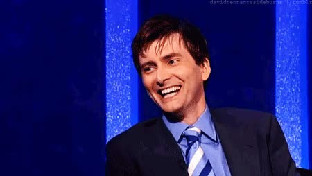 Watch this lol GIF by Miss GIF (@mizznaii) on Gfycat. Discover more David Tennant, GfycatBot, haha, lol GIFs on Gfycat