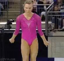 Watch gymnast GIF on Gfycat. Discover more related GIFs on Gfycat