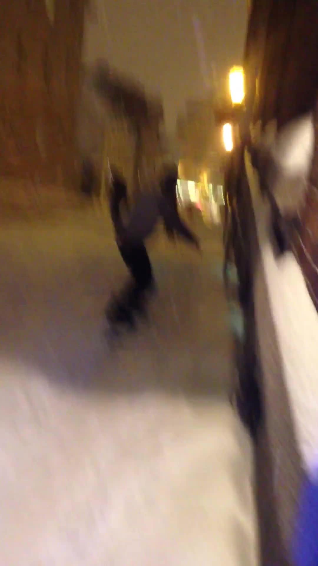 Snowboarder gets hit by car in Quebec City! GIFs