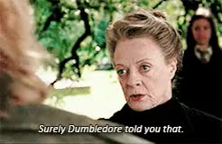 Watch and share Minerva Mcgonagall GIFs and Goblet Of Fire GIFs on Gfycat