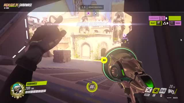 Watch and share Overwatch GIFs by shibawase on Gfycat