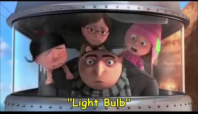 Despicable Me - Light Bulb Short Clip GIFs