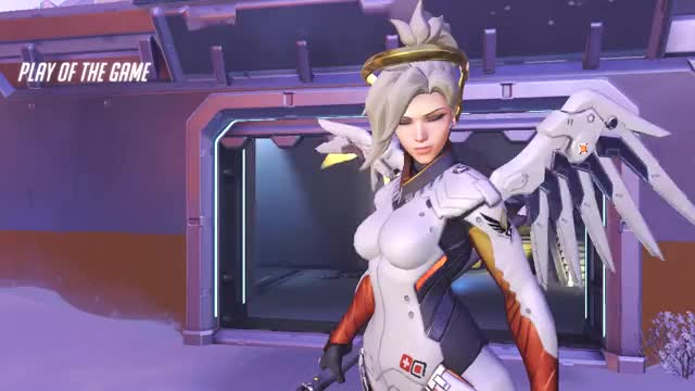 Watch and share Overwatch GIFs and Mercy GIFs by pooplolly on Gfycat