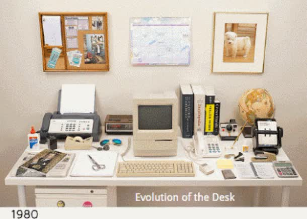 Watch and share The Evolution Of The Desk GIFs on Gfycat