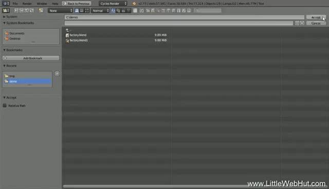 Blender Tutorial: Fantasy Text Factory Animation GIF | Find, Make