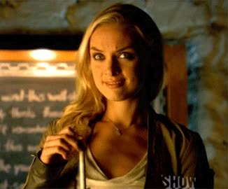 I love our skeptical, forever uncomfortable Tamsin.   X