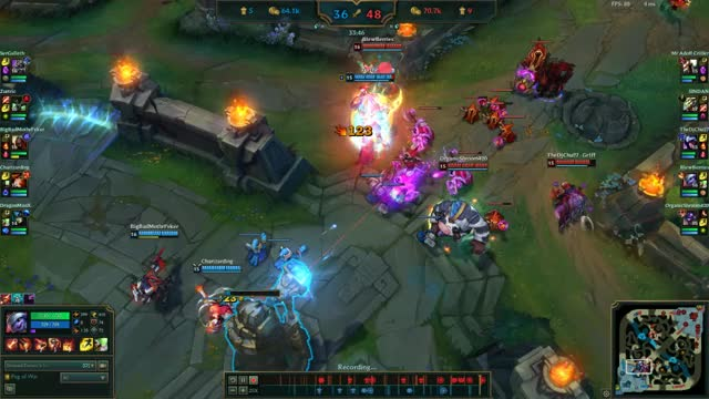 Watch Miss Fortune Glitch Slowmo GIF by @mvcalshek on Gfycat. Discover more related GIFs on Gfycat