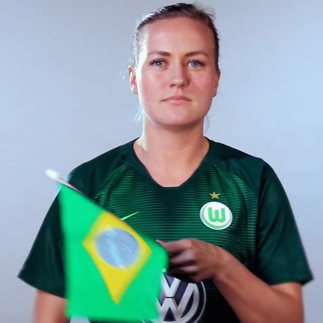Watch and share 19 Bra Flag GIFs by VfL Wolfsburg on Gfycat