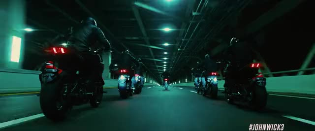 Watch this advert GIF by John Wick: Ch 3 - Parabellum (@johnwick) on Gfycat. Discover more chase, crash, fight, john wick, john wick 3, john wick chapter 3, john wick chapter 3 parabellum, keanu reeves, motorcycle, sword GIFs on Gfycat