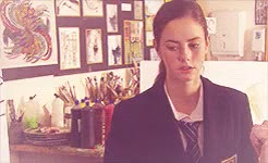 Watch and share Elizabeth Stonem GIFs and Kaya Scodelario GIFs on Gfycat