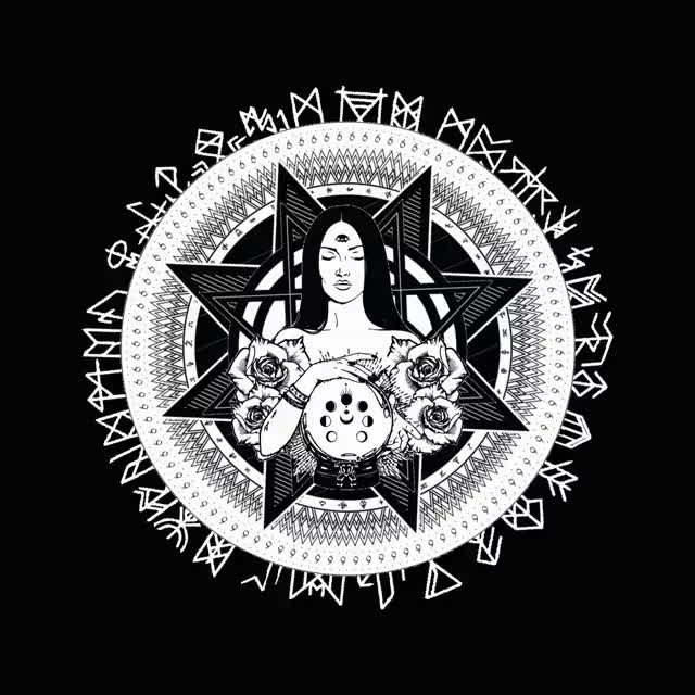 Watch and share Occult Design Animation 1110 GIFs on Gfycat